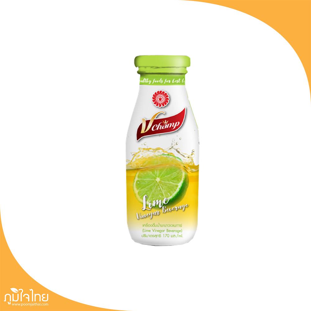 เครื่องดื่มน้ำส้มสายชูหมักมะนาว 170มล. วีแชมป์
