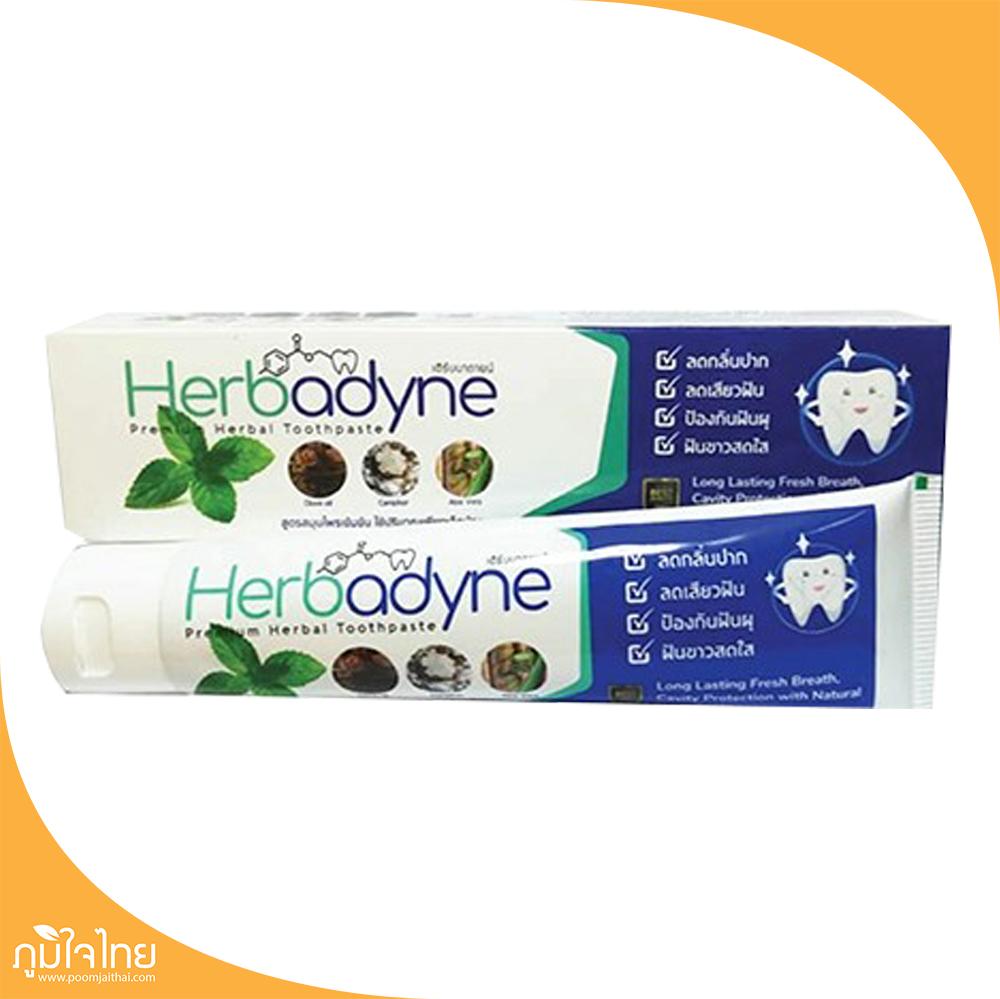 ยาสีฟันสมุนไพร 100กรัม เฮิร์บบาดายน์