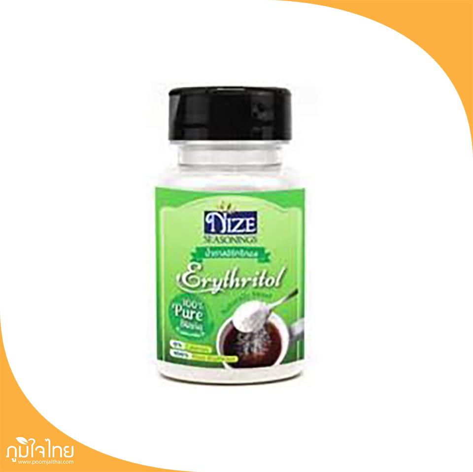 น้ำตาลอิริทริทอล 90กรัม ไนซซีซันนิ่ง